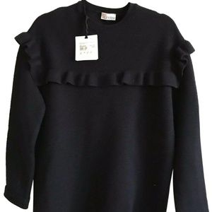 NWT! RED VALENTINO Over Sized Love beauty Sweater